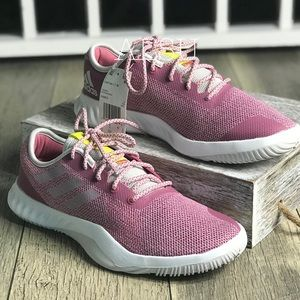 NWT Adidas CrazyTrain Low Top Rose W AUTHENTIC